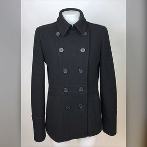 J. Crew Stadium Cloth Nello Gori Pea Coat